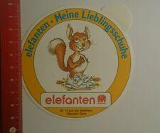Aufkleber/Sticker: Elefanten meine Lieblingsschuhe (27091658)