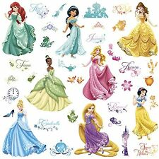 RoomMates Disney Princess Royal Debut Wall Stickers Decals NEW