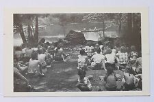 Old postcard Clara Barton Birthplace Camp, North Oxford, MA, 1960