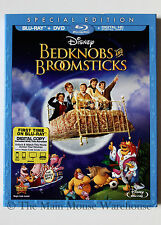 Disney Bedknobs and Broomsticks Bednobs & Broomsticks Blu-ray DVD Digital Copy