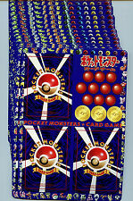 Japanese Pokemon Series #1 Vending Machine Card Sheets 1-18 Set Blue 1998 H8