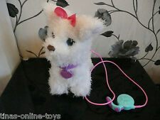 *****FURREAL FRIENDS LARGE GOGO MY WALKING WALKIN PUP PUPPY DOG & LEAD*****VGC