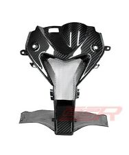 2009-2014 BMW S1000RR Nose Center Headlight Air Ram Intake Fairing Twill Carbon