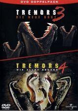 Tremors 3 - Die neue Brut & Tremors 4 - Wie alles begann mit Billy Drago NEU OVP