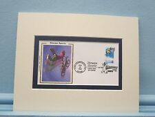Extreme Sports - BMX Biking & the First Day Cover of the its own stamp