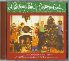 A PARTRIDGE FAMILY CHRISTMAS CARD - NEW SEALED CD