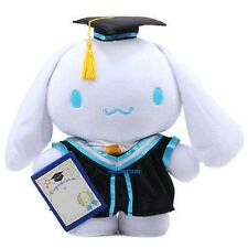GENIUNE JAPAN SANRIO CINNAMOROLL 30 CM GRADUATION GIFT PLUSH DOLL 150295