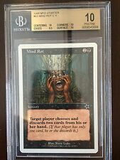 BGS Starter Mind Rot 10 Magic Beckett Graded MTG