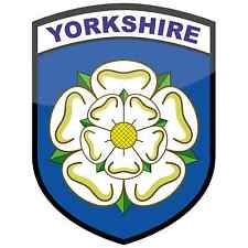 Yorkshire Rosa County Bandiera Adesivo Vinile car finestra