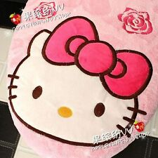 Pink Cute Kitty Cat Red Bow Toilet Seats & Lid Cover set
