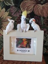 COCKATOO  FRAME  ~  ADORABLE ITEM   316-14