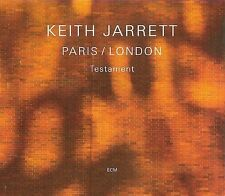 Paris / London - Testament Keith Jarrett Audio CD