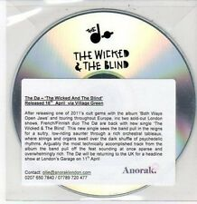 (DD471) The Do, The Wicked & The Blind - DJ CD