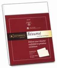 """Southworth Resume 9 X 12 Envelopes - RF#6Q 9"""" 12"""" 24.00 lb Gummed"""