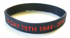 D DAY 70TH ANNIVERSARY COMBINED OPERATIONS SILICONE WRISTBAND