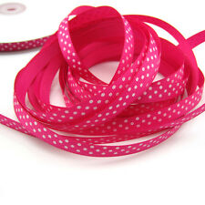 "5 Yards 3/8"" 9mm Rose colors Printed Cute Grosgrain Ribbon for crafts making ZS1"