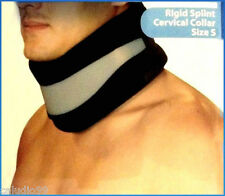 Adjustable Soft Cervical Collar w/ Removable Support (Neck Brace), Foam, Size S