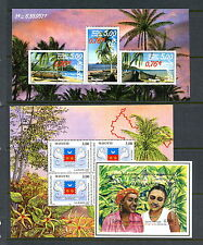 Mayotte  women pirogues arms  sheets    MNH  H331