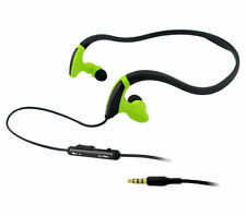 Neckband Sports Headphones Earphones with Mic Bass for Runners