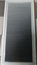 600 x 400  HINGED RETURN GRILL WITH FILTER AIR CONDITION DUCT UNIT