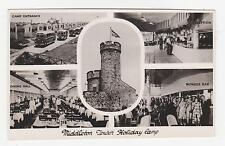 RPPC,Middleton Tower Holiday Camp,5 Views,Morecambe,Used,1950s
