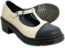 Dr. Martens Women`s Aggy T bar mary janes black porcelain US 5  EU 36 UK 3 RARE