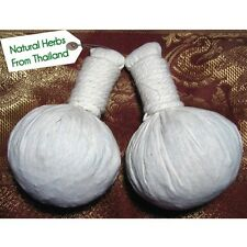 2 x Thai Herbal Compress Massage Ball Hot Spa For Body : 150 grams