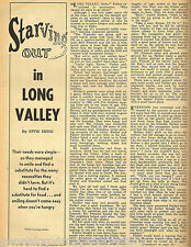 LONG VALLEY, IDAHO GENEALOGICAL TREASURE-SEE KIN BELOW