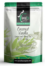 3 oz. Coconut Vanilla Gourmet Loose Black Tea Includes Free Tea Infuser