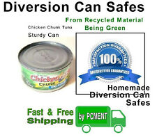 Diversion Safes - Tuna Can - Sturdy - Resist Dents - Better Than Soda Can Safes