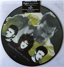 "AS NEW! QUEEN & DAVID BOWIE UNDER PRESSURE 7"" VINYL PICTURE PIC DISC"