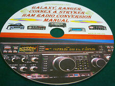 GALAXY, RANGER, CONNEX & STRYKER HAM RADIO CONVERSION MANUAL ON CD