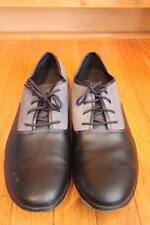 BED STU Footwear men's grey suede LEATHER dress shoes size 10