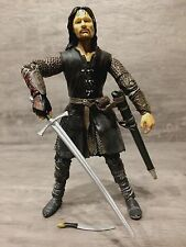 "The Lord of the Rings 6"" Scale HELMS DEEP ARAGORN with SWORD SLASHING ACTION"