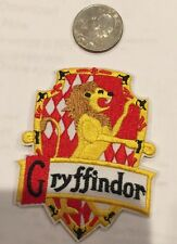 """Harry Potter """"Gryffindor"""" Logo Embroidered Iron-on patch 3""""x 2 1/4"""""""