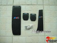 MT Pédales Pédalier Repose pied Set pr BMW M 1 3 Series E21 E30 E36 E46 X1 Noir