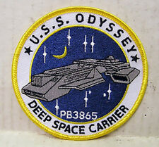 Stargate SG-1 USS ODYSSEY - DEEP SPACE CARRIER - Patch Uniform Aufnäher