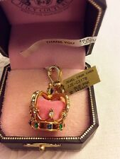 Authentic Juicy Couture: King Queen Jewellery Crown Charm