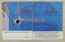E302-Advertising Pubblicità-1963 - WOLKSWAGEN