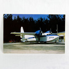 Chalk's Airline - Grumman Mallard - N3010 - Aircraft Postcard - Top Quality