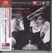 """Chano Dominguez Trio - Con Alma"" Japan Venus Records Audiophile DSD SACD CD New"