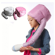 Portable Soft Hair Drying Cap Bonnet Hood Hat Blow Salon Dryer Attachment New S5