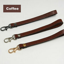 Genuine Leather Cowhide Wrist Strap Replacement for Clutch Wristlet Purse Pouch