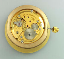 VINTAGE GRUEN CALIBER 466 MENS WRIST WATCH MOVEMENT – RUNS GOOD – ARNEX DIAL