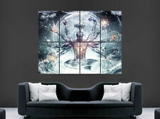 RELIGION FANTASY GOD UNIVERSE POSTER SPACE EARTH LIFE BODY ART TRIPPY PLANETS