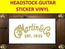 MART C F GOLD STICKER GUITAR AUFKLEBER VISIT OUR STORE WITH MANY MORE MODELS