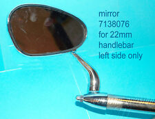 Classic bumm mirror bar end 7/8 50th style Spiegel Lenkerende 22mm BSA DKW AWO