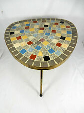 50´s Design Mosaik Beistell Tisch /mosaic  table side table  30 cm  09978
