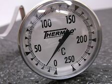 THERMCO 3LPL8 Dial Pocket Thermometer 8 In. L (D18)