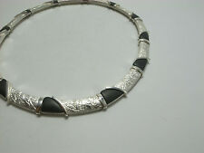 Lapponia Finland Björn Fig Leaf Necklace Silver 925 Rare 1999 - Very Good